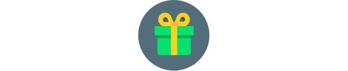 Nová ikona pro promo akce a dárky