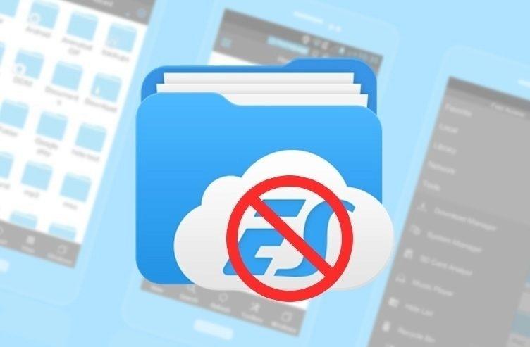 Aplikace ES File Explorer