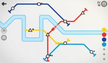 Hra Mini Metro
