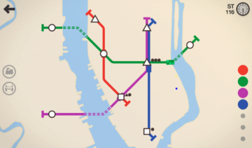 Čtyři linky podzemky