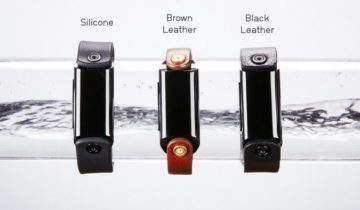 Řemínky z kůže a silikonu