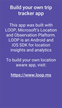 Trip Tracker propaguje LOOP SDK