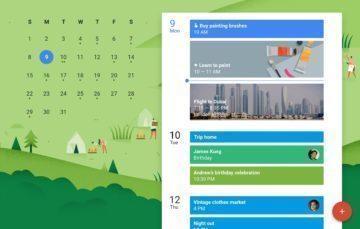 kalendář od Google