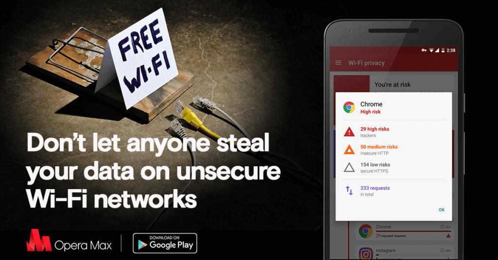 Ani na veřejných Wi-Fi se nemusíte bát