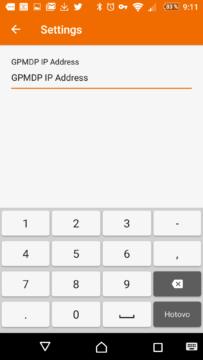 IP adresu PC lze zadat ručně