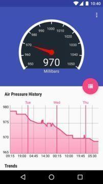 Barometer Reborn udělá z telefonu barometr