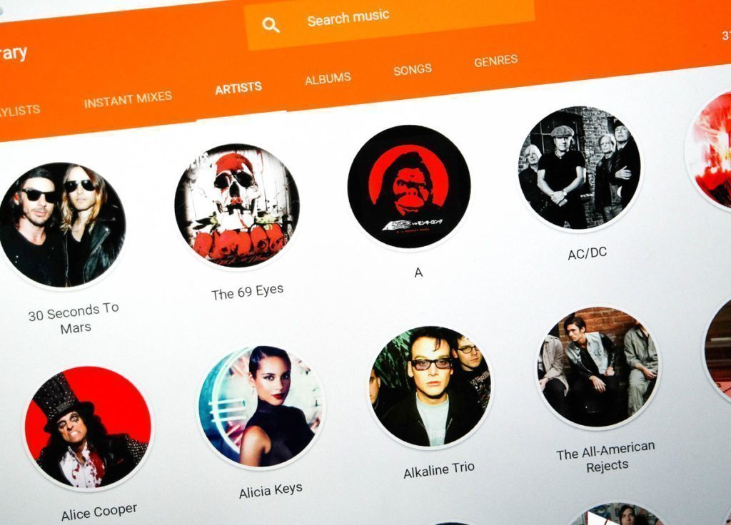 google-music-library