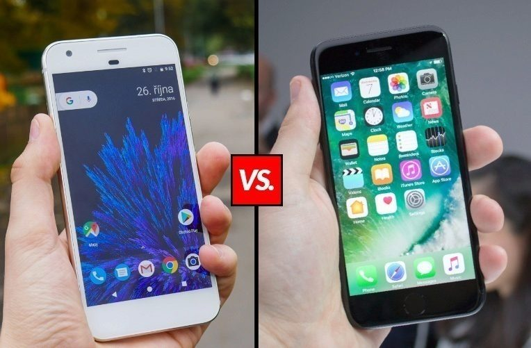 Google Pixel vs. iPhone 7