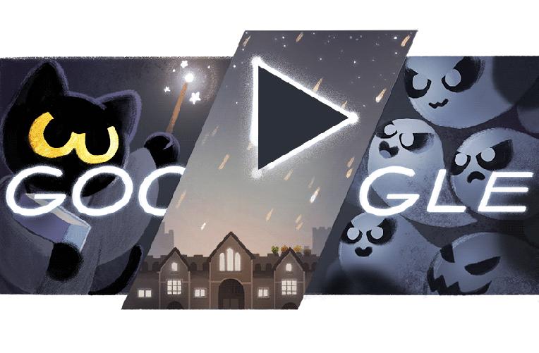 Halloween s Googlem