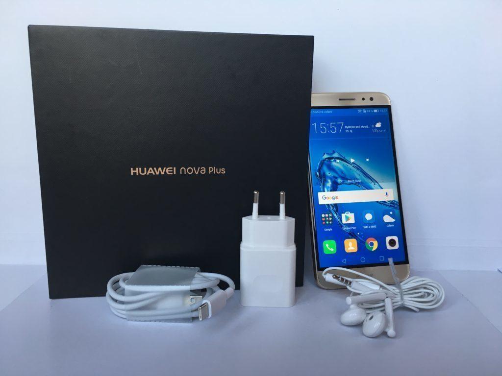 V balení si Huawei nepřipravil žádné překvapení.