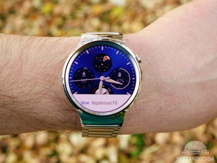 Huawei Watch - displej