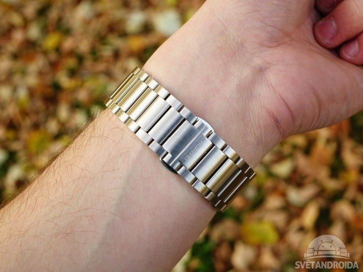 Huawei Watch -  konstrukce, pásek