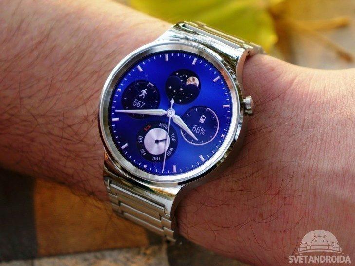 Huawei Watch - konstrukce, předek
