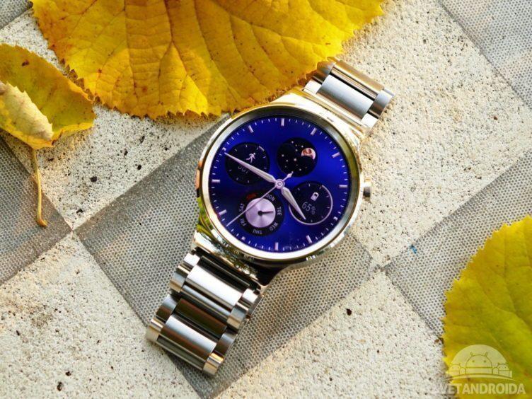Huawei Watch - konstrukce, přední strana (1)