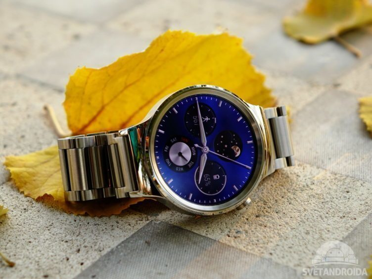 Huawei Watch - konstrukce, přední strana (2)