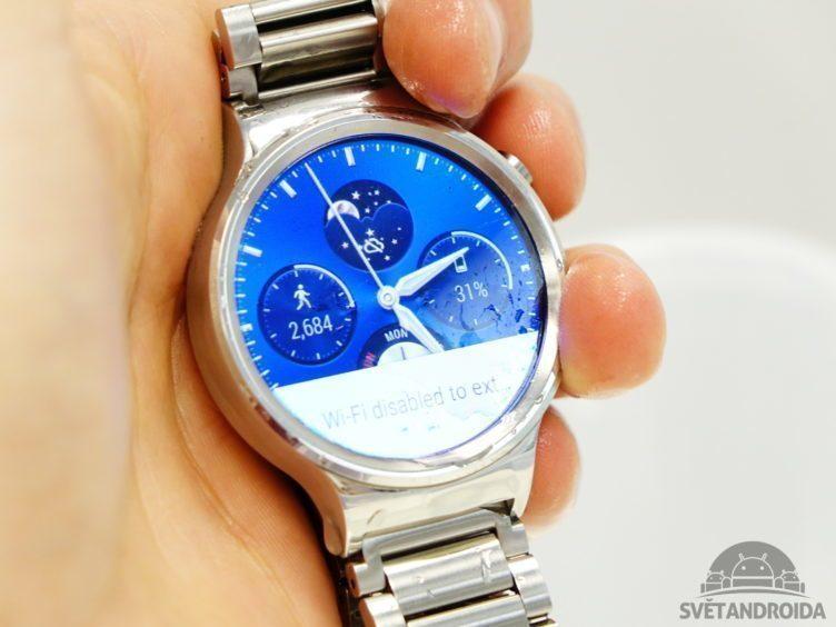 Huawei Watch - konstrukce, voda