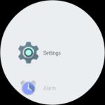 Huawei Watch – prostředí systému, menu aplikací