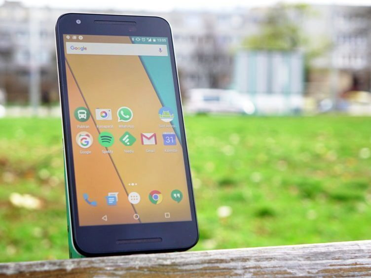 Nexus 5X - displej, čitelnost