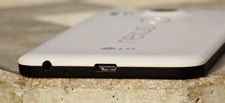 Nexus 5X - konstrukce, USB C
