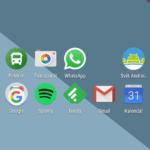 Nexus 5X – systém, domácí obrazovka