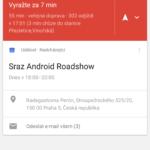 Nexus 5X – systém, google now upozornění (1)