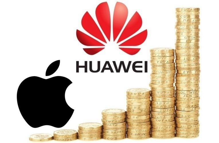 Richard Yu, Apple a Huawei