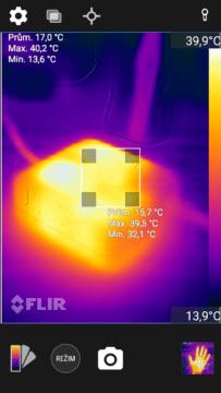 CAT S60 termokamera aplikace