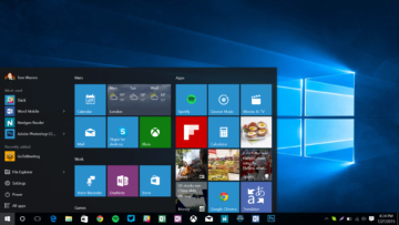 Windows 10 vrátily tlačítko Start