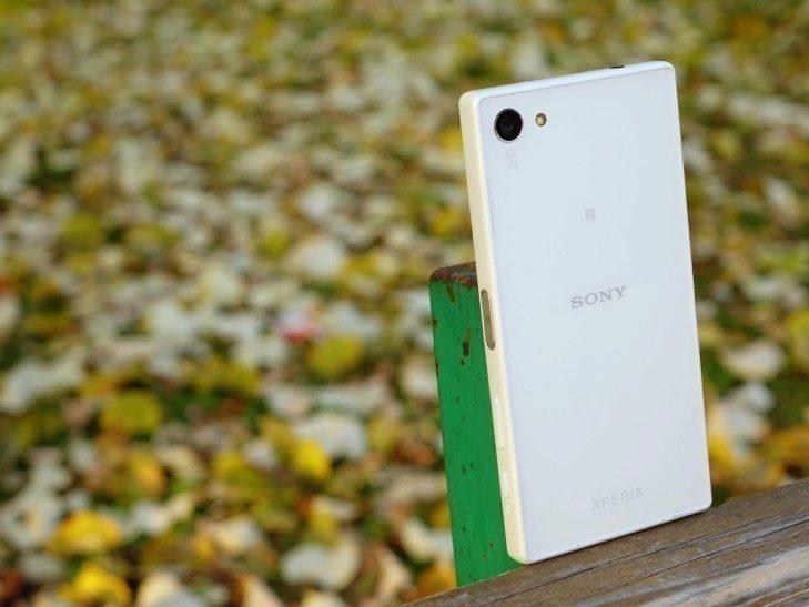 Sony Xperia Z5 Compact - konstrukce, zadní strana 2