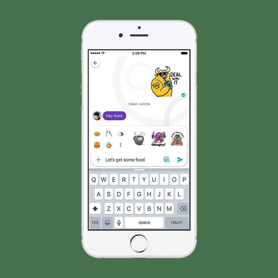 Google Allo 3.0 navrhuje nálepky