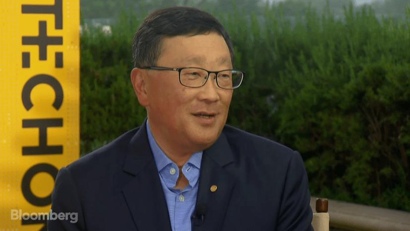 Generální ředitel John Chen slíbil telefon s hardwarovou klávesnicí