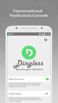 Dingless - Notification Sounds