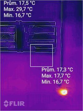 CAT S60 termokamera foto 3