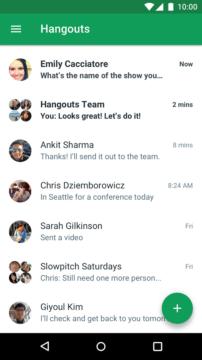 Hangouts je dle redaktorů nejlepší aplikací pro komunikaci zadarmo