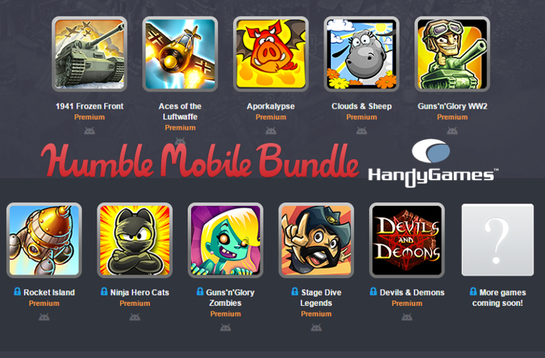Humble Mobile Bundle: Handygames