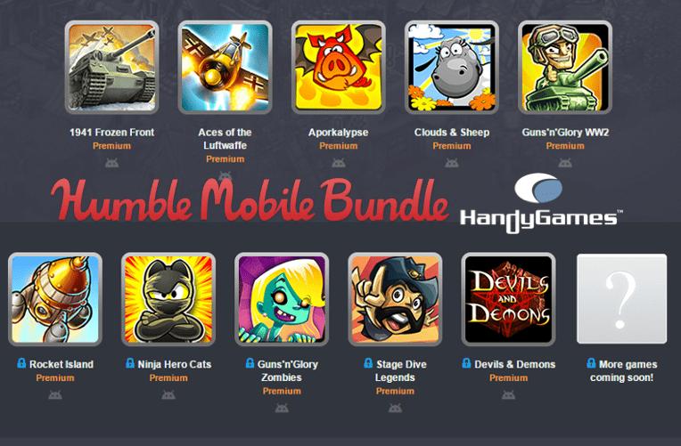 Humble Mobile Bundle: Handygames