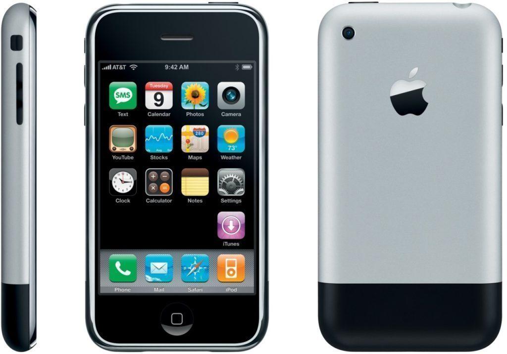 Mnoho lidí považuje nesprávně za první telefon s dotykovým displejem iPhone.