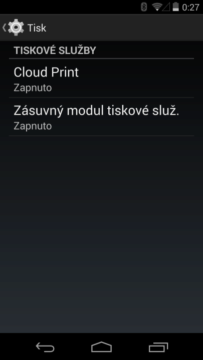 Holo UI na telefonu Nexus 5