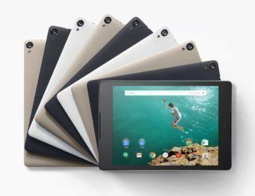 Poslední tablet Nexus - Nexus 9