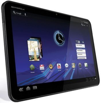 Motorola Xoom s Androidem 3.x Honeycomb