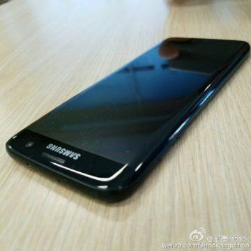 Lesklý černý Galaxy S7 Edge