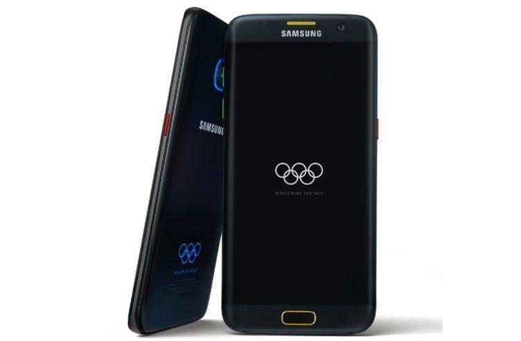 Samsung Galaxy S7 Edge v limitované olympijské edici