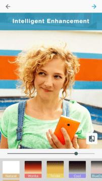 Microsoft Selfie - filtry