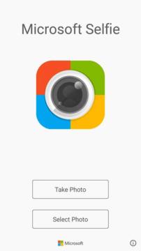 Microsoft Selfie - pro hezčí selfíčka