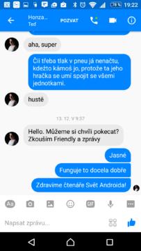 Textová konverzace
