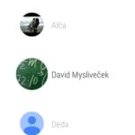 Motorola Moto 360 (2015) – systém Android Wear, menu