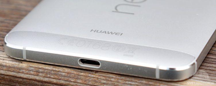Nexus 6P - konektor USB-C