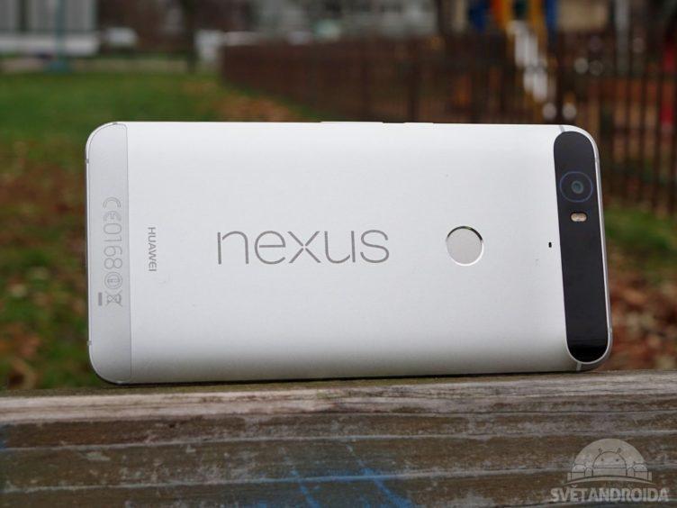 Nexus 6P - konstrukce, zadní strana
