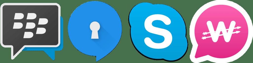 4 nejlepší aplikace pro komunikaci zadarmo