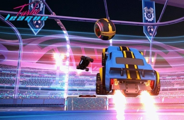 Rocket League klon Turbo League